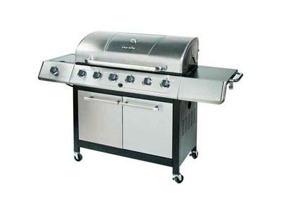 char broil k6b 6 burner 65 000 btu propane gas grill review. Black Bedroom Furniture Sets. Home Design Ideas