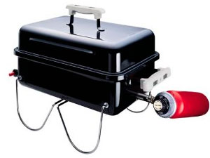 Weber 1520 Gas Go-Anywhere propane grill