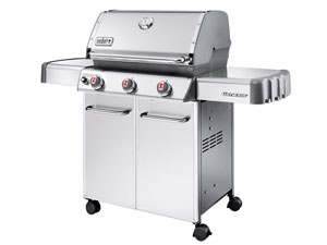 Weber Genesis S310 stainless-steel liquid propane grill