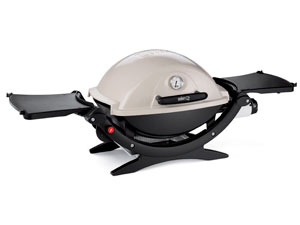 Weber Q120 portable propane gas grill