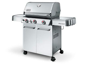 Weber S330 stainless-steel liquid propane gas grill