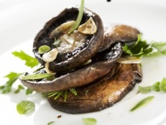 Grilling Portobello Mushrooms